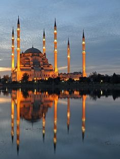 Sabancı mosque in Adana, Turkey-- We lived 5 minutes away from this beautiful mosque.