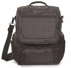 """Zebra Convertible 15"""" Laptop / MacBook Pro Rugged, Vertical Messenger Bag - New #Zebra #verticalmessengerbag"""