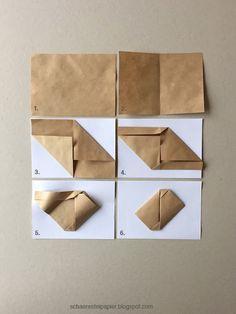einen briefumschlag falten origami ohne schneiden oder kleben origami pinterest origami. Black Bedroom Furniture Sets. Home Design Ideas