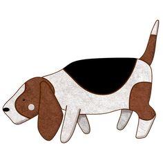 He encontrado este interesante anuncio de Etsy en https://www.etsy.com/es/listing/200803748/basset-hound-dog-decal-sticker-for