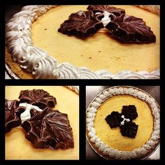 Invite us to your holiday table! We heap Pumpkin Ice Cream into a Graham Cracker Pie Crust and top it with Cinnamon Frosting and Chocolate Leaves in our Pumpkin ice Cream Pie! Available in stores beginning on Nov. 5!