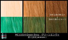 To make 'em jealous of your emerald locks, lift your hair to a level 10 #blonde. See how this color will come out on darker shades, here. #ManicPanic #ManicPanicJapan #Greenhair