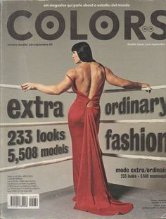 Colors Magazine- Extra Ordinary Fashion