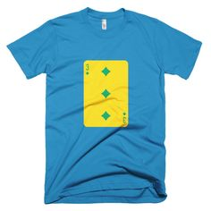 St. Vincent Playing Card - Short sleeve men's t-shirt
