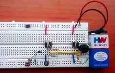 Fridge door alarm circuit working | Electronic Circuits | Pinterest ...