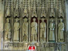 The 7 Martyrs created on StoneGenie for St Albans Cathedral in collaboration with Rory Young
