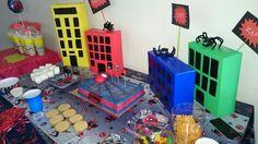 Fiesta infantil de spiderman