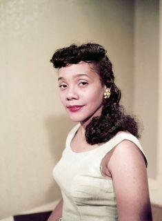 Coretta Scott King, 1958.