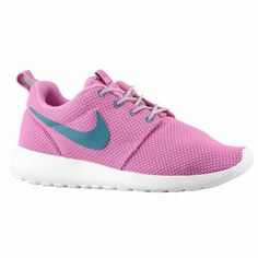 5b21a126486d Nike Roshe One - Women s - Red Violet Wolf Grey White Green Abyss