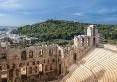 Odeum of Herodes Atticus - Athens