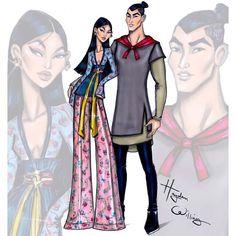 Casais fashionistas Disney
