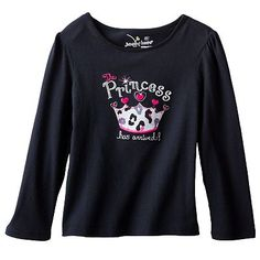 Jumping Beans Applique Tee - Girls 4-7 $7.99 got this with the matching leopard pants!