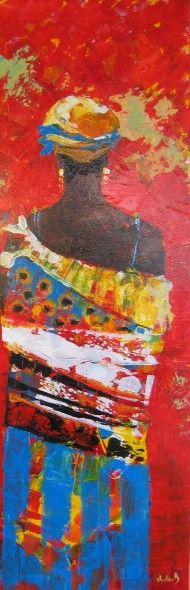 schilderijen afrika
