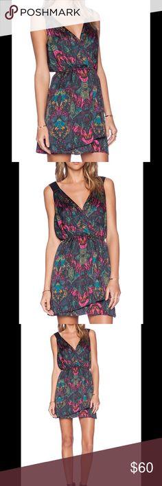 Faux wrap 👗 dress Viridian combo faux wrap dress BCBGeneration Dresses Mini