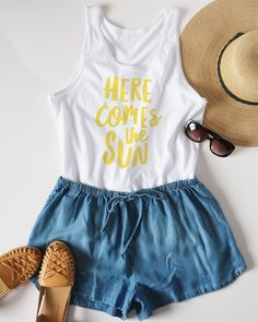 Squeeze all the fun out of your summer days with these super soft unisex fit tanks. Whether you're a beach girl, a lake girl or you just think doing everything under the summer sun is better, these are the perfect tank!