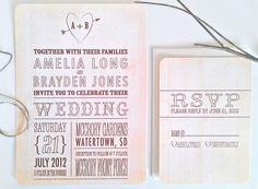 wedding invitations  twigsprintstudio