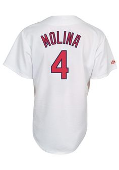 Cardinals Baseball, St Louis Cardinals, Yadier Molina, Baseball Jerseys, Best Player, Athletes, Mlb, Sporty
