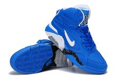 Nike Air Force 180 Mid Photo Blue White Wolf Grey For Wholesale Kevin Durant Basketball Shoes, New Basketball Shoes, Kevin Durant Shoes, Kobe Basketball, Kobe 9 Shoes, Kd 6 Shoes, Nike Lebron, Lebron 11, Nike Zoom