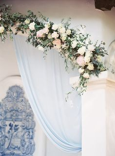 Photography : Brandon Kidd Photography | Floral Design : Oak and the Owl | Event Planning : LVL Weddings & Events | Venue : Rancho Las Lomas Read More on SMP: http://www.stylemepretty.com/2016/07/20/a-ranch-wedding-featuring-pantone-colors-of-2016/