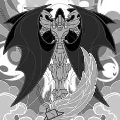 Progress on my Gundam Wibg: Endless Waltz illustration I've been working on. Still got a bit more to do but it should be ready to paint soon. - - - #schmandrewart #illustration #illustratorsoninstagram #digitalart #digitalpainting #vectorart #gundamwing #deathscythe #duomaxwell #stainedglass #614artist #columbusohio #columbusartist