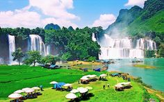 Ban Gioc waterfall - a wonderful waterfall in the Northern Vietnam