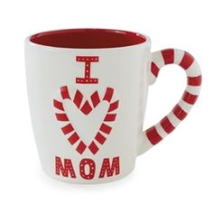 Hallmark I Love Mom Mug #hiddentreasuresdecorandmore