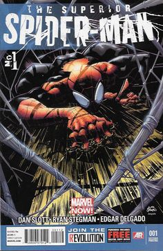 The Superior Spider-Man # 1 Marvel Now! 2nd Printing