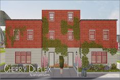 A three-storey unfurnished duplex apartment for your simmies. Each unit has two bedrooms, two bathrooms, a terrace, and a backyard. I did not playtested it, but everything is fenced so there should be no trouble accessing those areas.  I suck at...