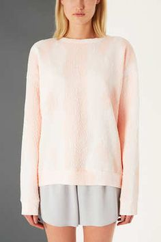 Textured Snake Sweat By Boutique - reminding me of stella mcartney who just showcased her resort collection yesterday!