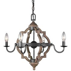 The Sea Gull Lighting Socorro Chandelier features classic barbed quatrefoils and metal candleholders with contrasting finishes. Attention to detail helps this fixture to make a clear design statement. Height adjustable at installation. Candle Chandelier, Candelabra, Chandelier Lighting, Chandeliers, Orb Light Fixture, Residential Lighting, Austin Homes, Kitchen Lighting, Farmhouse Lighting
