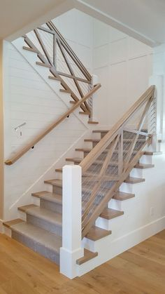 30 Best Modern Stair Railing Images Modern Stairs Stair   Modern Banisters And Handrails   Oak   Minimalist Simple Stair   Modern Style   String   Grey