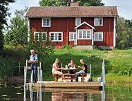 Sommerhuse, ødegårde og hytter i Sverige