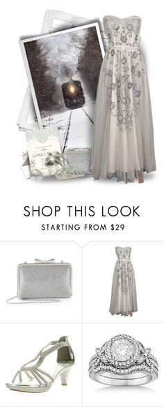 """""""Winter Wedding Journey"""" by majezy ❤ liked on Polyvore featuring Delicacy and Allurez"""