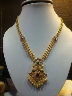 Gold Earrings Designs, Gold Jewellery Design, Bead Jewellery, Necklace Designs, Gold Necklace Simple, Gold Jewelry Simple, Gold Pendent, Bridal Jewelry, Fashion Jewelry