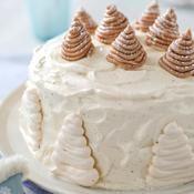 Gâteau façon Mont-Blanc - une recette Gâteaux de fête - Cuisine
