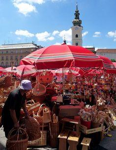 Dolac market - Zagreb, Croatia