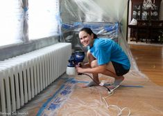 Radiator painting can be time consuming and tedious, but not with this tutorial! Lean how to paint a radiator the easy way! Save time and frustration.