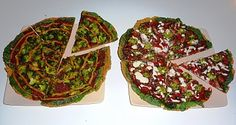 Better Raw: Two Raw Pizzas (or salads for those without dehydrators)