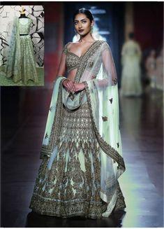 e4d4368cef0 Buy This Bridal Wear Pista Green Mulberry Silk Heavy Embroidery Work Lehenga  Choli Online Shopping