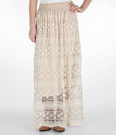 Daytrip Lace Maxi Skirt - Buckle