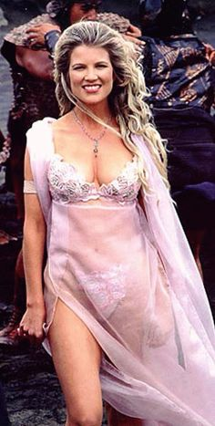 "Aphrodite, Goddess of Love played by Alexandra Tydings in ""Xena - Warrior Princess"""