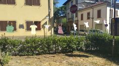 Prospettiva inversa del sottomura poetico di Prato.