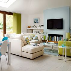 Want open-plan living room? Take a look at these brilliant and creative ways to create an open-plan seating area in your home Room Interior Design, Living Room Interior, Living Room Furniture, Living Room Decor, Dining Room, Sofa Furniture, Dining Table, Sunken Living Room, Coastal Living Rooms