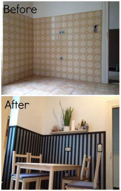 On a Budget - Refurbish Wall Tiles #decorating #renovation