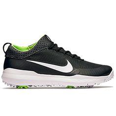 info for 76d70 9953e Nike Golf Mens Fi Premiere Golf Shoes (11 D(M) Us, BlackVoltWhite)