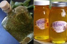 Homemade Holiday Foodie Gifts: Flavored Vinegars And Honeys