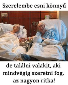 An elderly couple, married for 68 years, were heartbroken when they were each bedridden in the same hospital, but could not see each other. That is until compassionate hospital staff made special arrangements to bring the two back together. Message Secret, Health Care Agencies, Couple Holding Hands, Elderly Couples, Old Wife, Home Health Care, The Best Is Yet To Come, Couples In Love, Logos