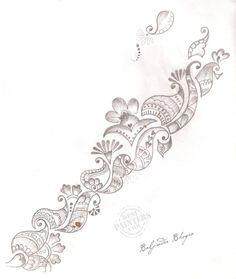 mehndi designs drawings - Google Search