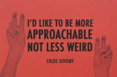 The fine words of Chloe Sevigny
