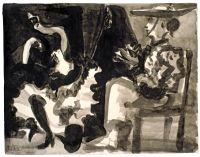 Danseuse et Picador...Picasso 1960